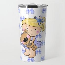 Ballerina Bessie and Her Bear Travel Mug