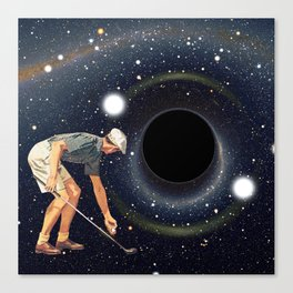 Black Hole in One Canvas Print