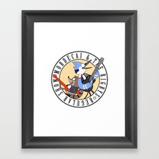 Mordecai and the Rigbys Framed Art Print