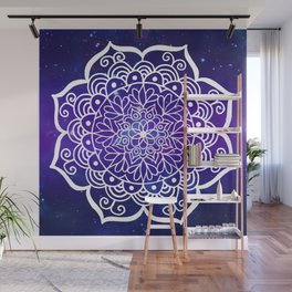 Galaxy Mandala Wall Mural