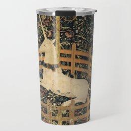 The Unicorn In Captivity Travel Mug