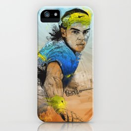 Rafa Nadal iPhone Case