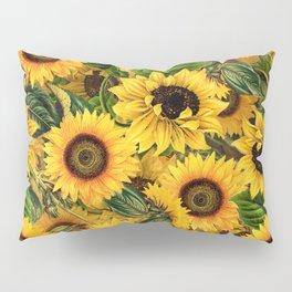 Vintage & Shabby Chic - Noon Sunflowers Garden Pillow Sham