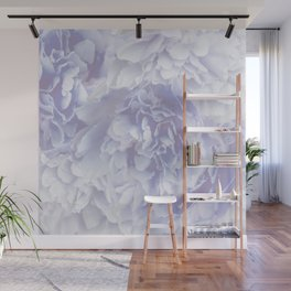 Flower Bouquet In Pastel Blue Color #decor #society6 #buyart Wall Mural