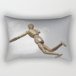Hanging by a Thread Rectangular Pillow