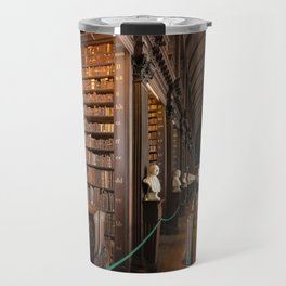 The Long Room of Trinity College Library in Dublin, Ireland Travel Mug