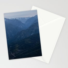 Sierra Nevada Mountains California Stationery Cards