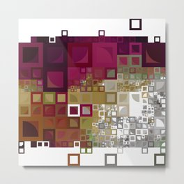 Of a Tangle in Earthen Shades... Metal Print