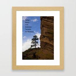 RR Tree Framed Art Print