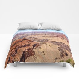 Awesome Grand Canyon View Comforters