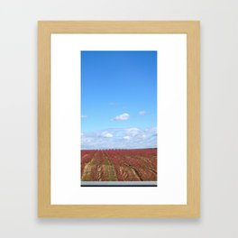 Road to Bilbao Framed Art Print