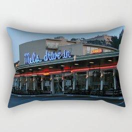 Mel's on Geary Street Rectangular Pillow