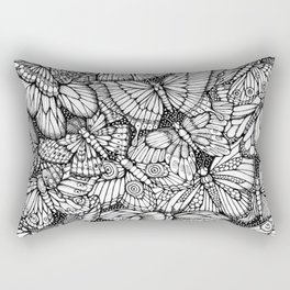 The Butterflies Waltzes by Kent Chua Rectangular Pillow