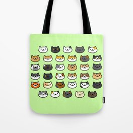 CAT BACKYARD v2 Tote Bag