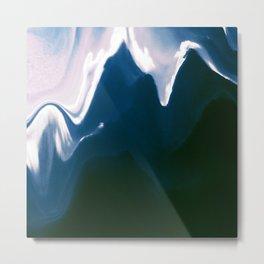 Distorted Mountains III Metal Print
