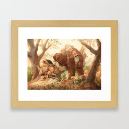 Dwarfen merchant Framed Art Print