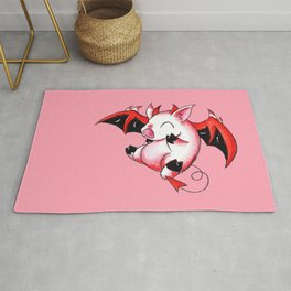 Devil Piggy Rug