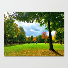 Greenfields Canvas Print