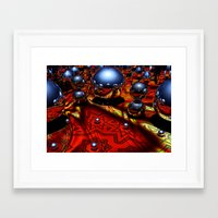 guardians Framed Art Prints featuring Guardians by Robin Curtiss