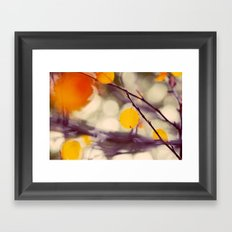 Light of Autumn Framed Art Print