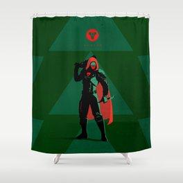 028 Hunter D2 Shower Curtain