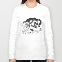 berserk Long Sleeve T-shirts featuring Guts & Griffith vs Zodd by Vortha