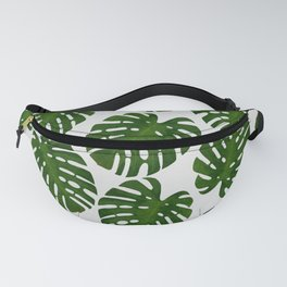 Monstera Leaf III Fanny Pack