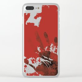 Let Me Out Clear iPhone Case