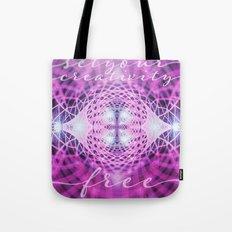 Set Creativity Free Tote Bag
