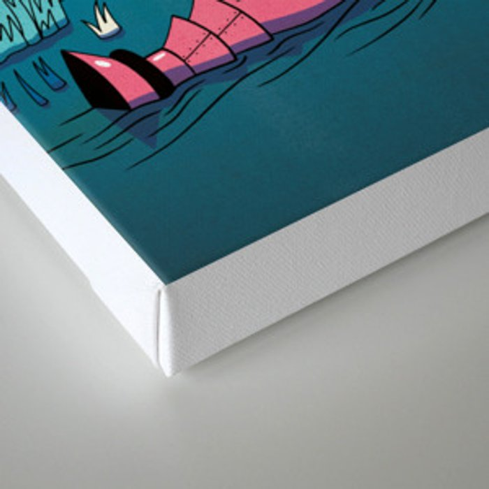 Getting into a Good Book Canvas Print