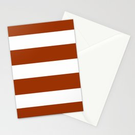 Mariniere marinière Brown Stationery Cards
