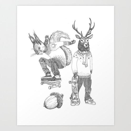 F*** your christmas Art Print