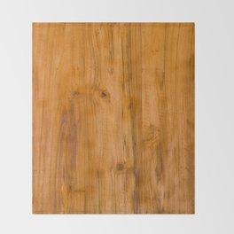 Teak Wood Throw Blanket