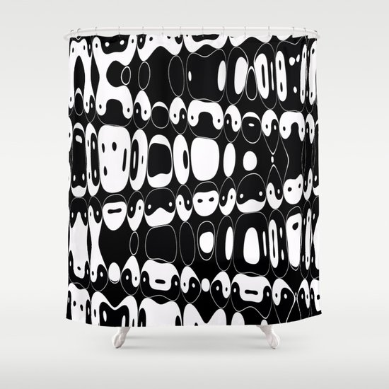 Yin Yang mix (b) Shower Curtain