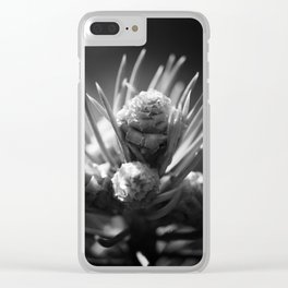 aspirations of the pinecone Clear iPhone Case