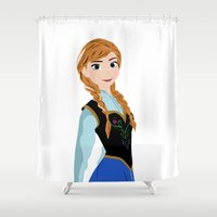anna Shower Curtains featuring ANNA by Lauren Lee Design's
