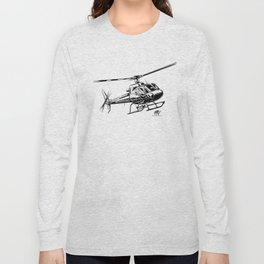 Eurocopter AS350 Écureuil Long Sleeve T-shirt