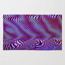 Glitch screen error Digital pixel Rug
