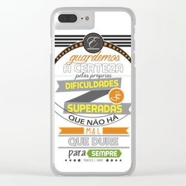 Chico Xavier Clear iPhone Case