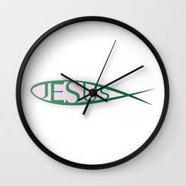 Jesus Wall Clock