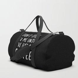 Coffee First Duffle Bag
