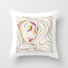 SEVEN Throw Pillow