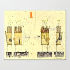 Domicile 01_Harvest Moon Canvas Print