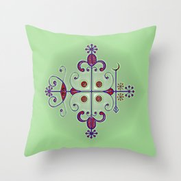 Voodoo Symbol Papa Legba Throw Pillow