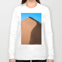 dune Long Sleeve T-shirts featuring Dune Hike by Katie Jo Sheppard