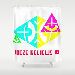 Sides of The Pyramid Shower Curtain