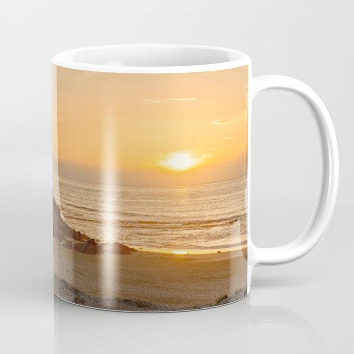 Sunset On The Costa Vicentina Portugal Coffee Mug