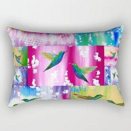 Hummingbird Cushion Rectangular Pillow