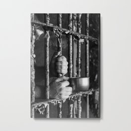 Thirsty for trouble... Metal Print