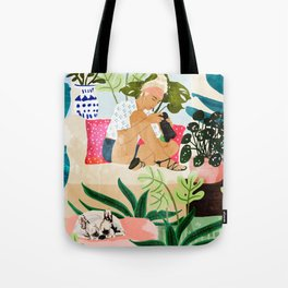 Miss Blogger Tote Bag
